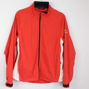 Sun Moutain RainFlex red golf jacket waterproof